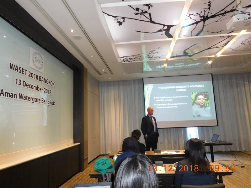 Photos of Recent Adavances in Pharmacy and Pharmaceutical Sciences in Bangkok #16