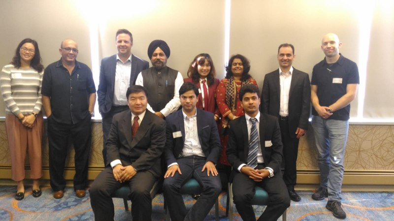 Photos of Teleinformatics, Information Technologies, Data Management and Modeling in Vancouver #3