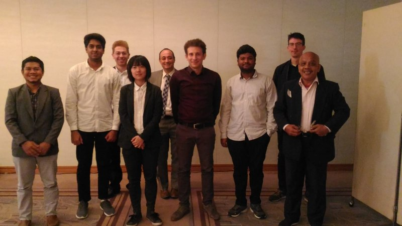 Photos of Nonlinear Quantum Dynamics in Tokyo #16