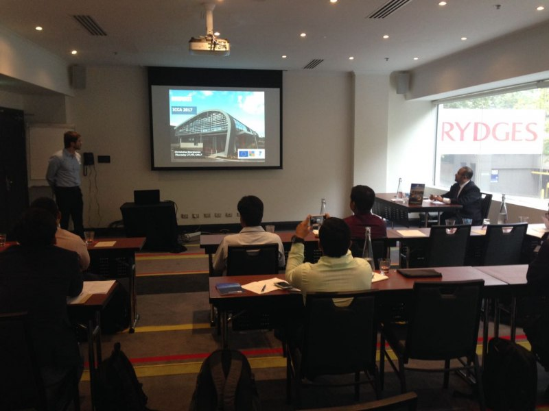 Photos of Biomolecular Kinetics, Molecular Modeling and Simulation in Sydney #10
