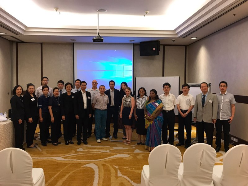 Photos of Network Robot Systems and Simulation in Singapore #49