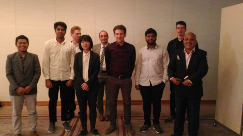 Photos of Advanced Commutative Algebras and Cryptography in Tokyo #14