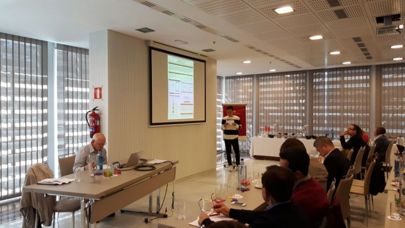 Photos of Steganalysis and Multimedia Services in Madrid #19