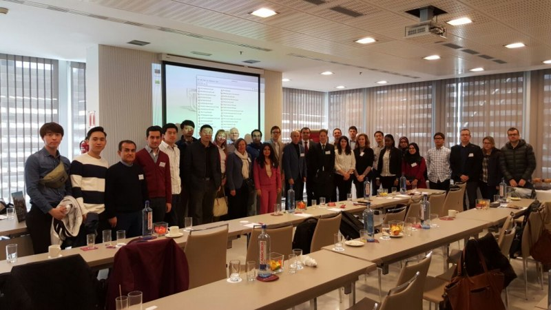 Photos of Applied Cryptography and Network Security in Madrid #15