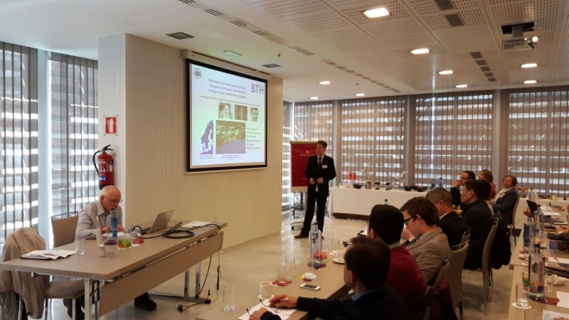 Photos of Carbon Nanotube Sensors and Strain Sensors in Madrid #16