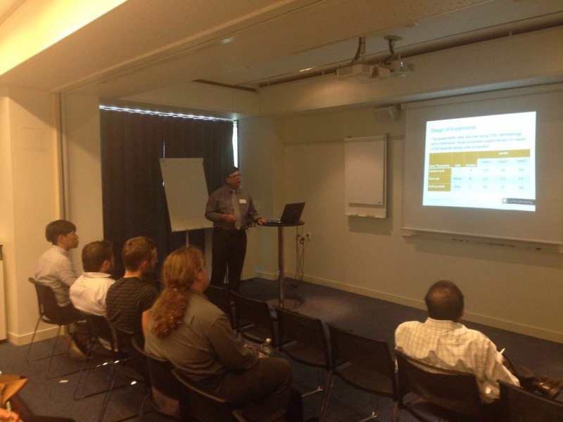 Photos of Applications of Electromagnetic Waves and Electromagnetic Modeling of Devices and Circuits in Stockholm #21