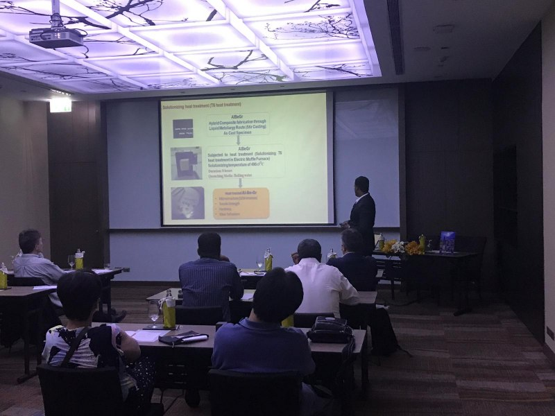 Photos of Global Geophysics and Mineralogy in Bangkok #4