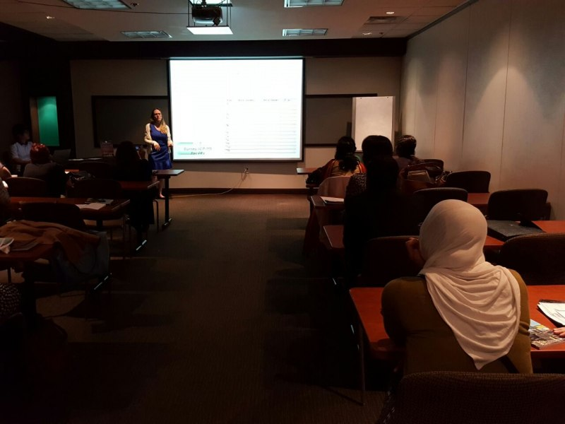 Photos of Language Sciences and Theoretical Corpus Linguistics in Toronto #15