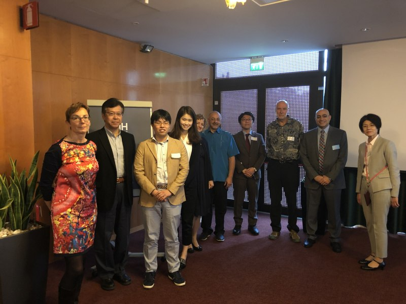 Photos of Advances in Hydrogen Storage Materials Research and Composite Materials for Hydrogen Storage in Rome #1