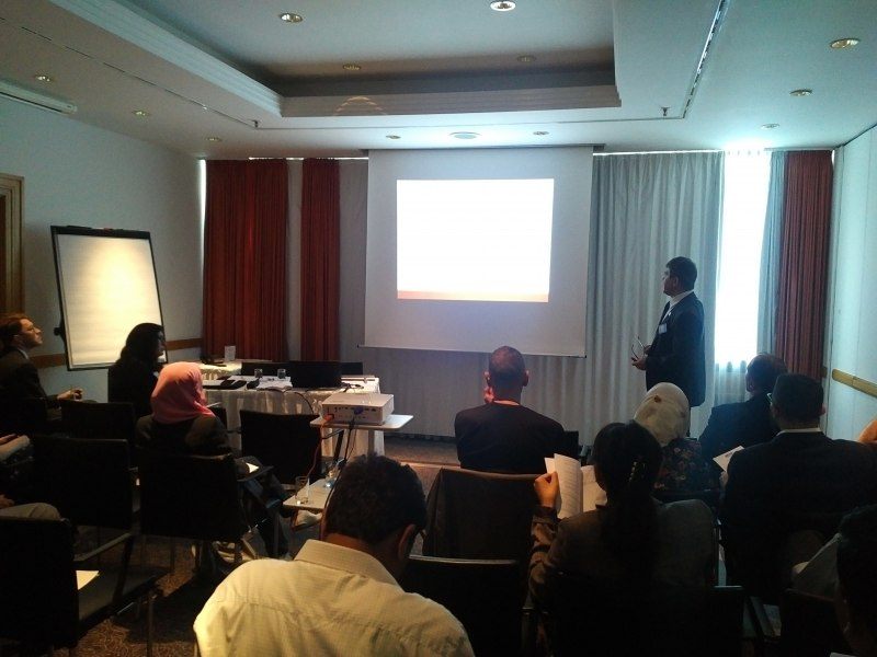 Photos of Cognitive Radio and Compressive Sensing for Cognitive Radio Networks in Berlin #22