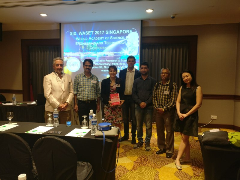 Photos of Network Robot Systems and Simulation in Singapore #40
