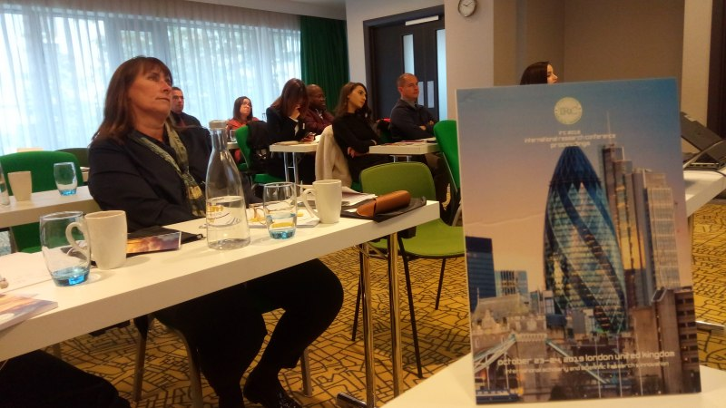 Photos of Psycholinguistic and Applied Corpus Linguistics in London #14