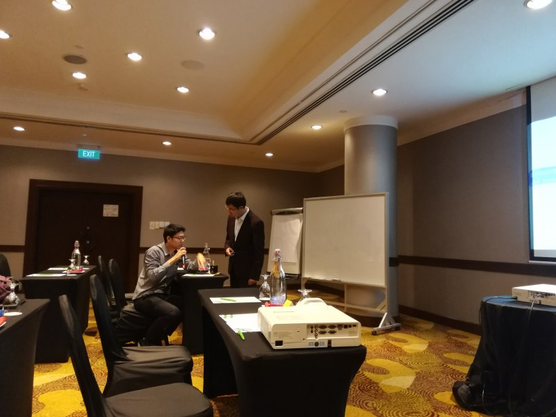 Photos of Advanced Commutative and Combinatorial Algebras in Singapore #19