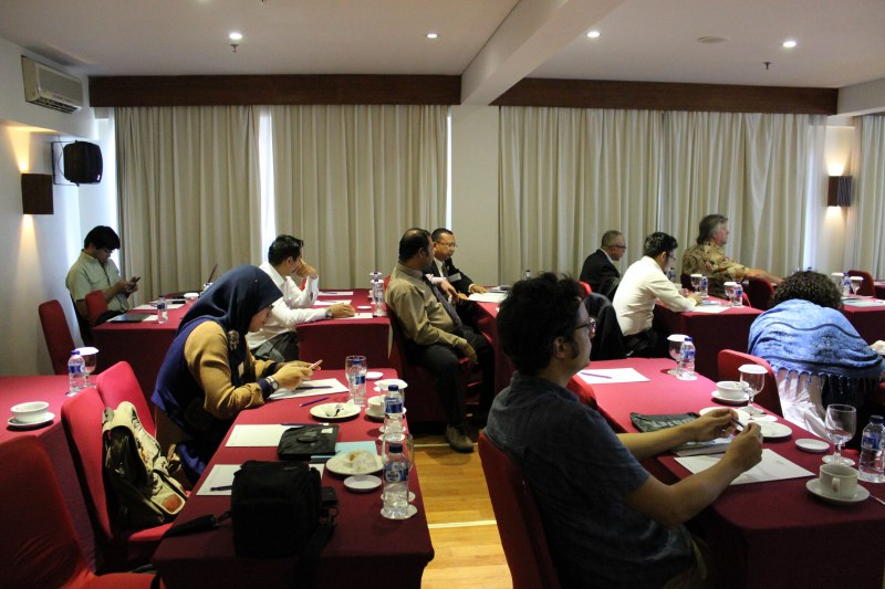 Photos of Advances in Geodesy and Geomatics Engineering in Bali #27