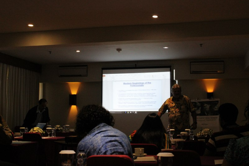 Photos of Advances in Geodesy and Geomatics Engineering in Bali #24