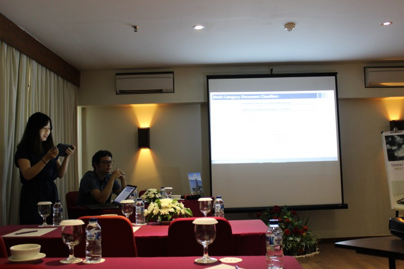 Photos of Inorganic Materials Chemistry and Functional Materials in Bali #23