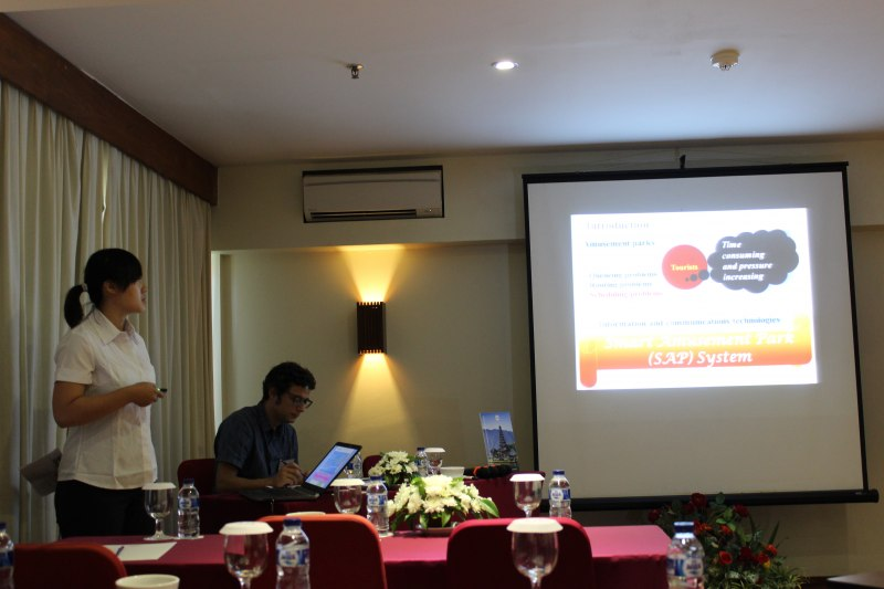 Photos of Radiation Physics and Astrophysical Plasmas in Bali #22