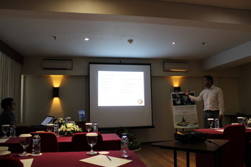 Photos of Advances in Geodesy and Geomatics Engineering in Bali #21