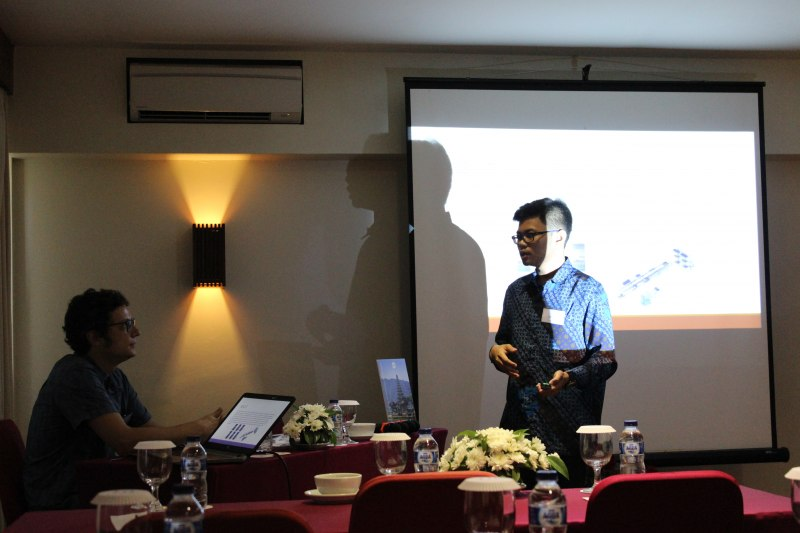 Photos of Advances in Geodesy and Geomatics Engineering in Bali #14
