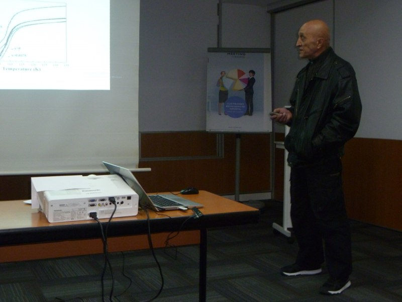 Photos of Design and Theoretical Study of New Antennas and Antenna Arrays Measurement in Barcelona #5