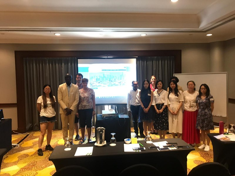 Photos of Advanced Commutative and Combinatorial Algebras in Singapore #39