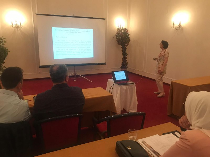 Photos of Accounting Information Systems and Financial Accounting in Prague #3