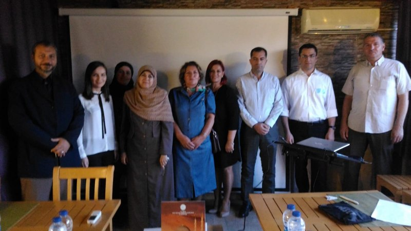 Photos of Mathematical and Theoretical Biology in Istanbul #1